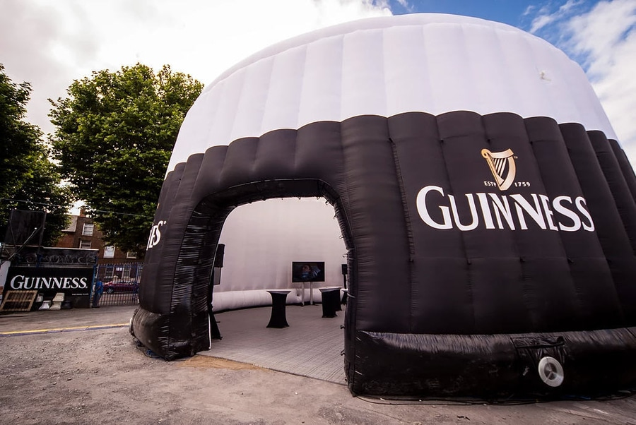 Image result for guinness fan zone